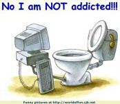 not addicted to internet - this describes that i am not addicted to mylot.
