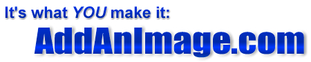 AddAnImage.com logo - This is the logo for AddAnImage.com - the place where you can easily promote your own websites.