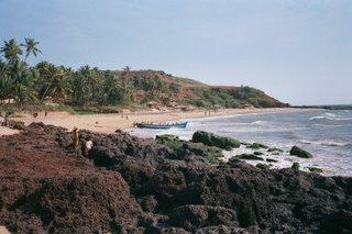Goan Beach  - Sun soaked beach of goa. Goan beaches are famous worldwide.