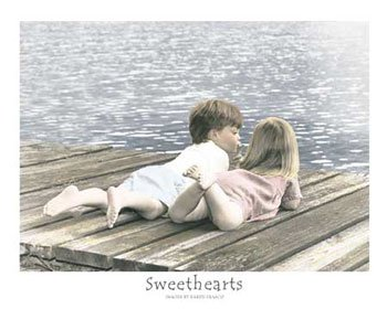 sweethearts - baby, now that i found you i won't let you go...