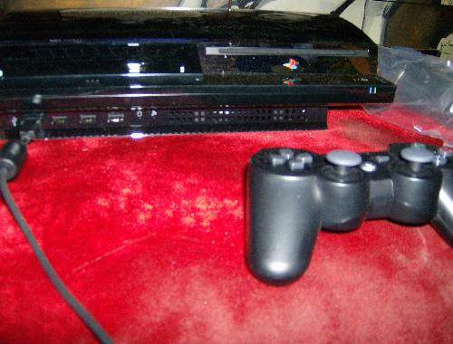 my ps3 - its a picture of my ps3