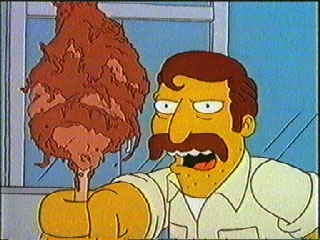 Khlav kalash - A lovely tasty stick of Khlav kalash.  Now all I need is a gallon of crab juice!!