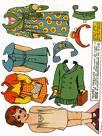 Paper Dolls - paper doll book