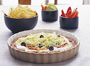 Ultimate 7-Layer Dip - Enjoy Your Meal This NEw Year!!