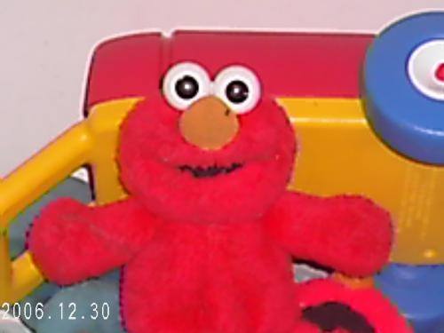 elmo - this is elmo off of sesame street.