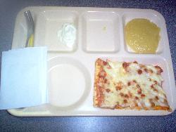 School Pizza - Pepperoni school pizza