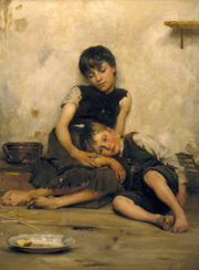 Orphans by Thomas Kennington - Orphans by Thomas Kennington