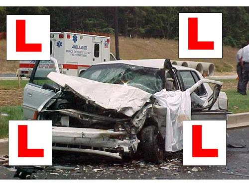 Learn To Drive Correctly! - Car accident