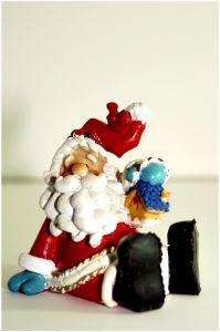 Holiday  - Santa figurine