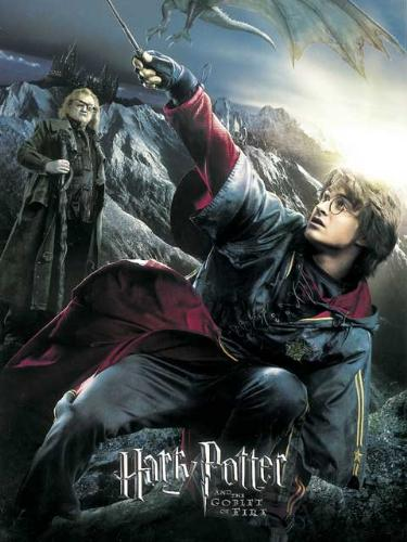Harry Potter and the goblet of fire - Harry potters 4th movie poster