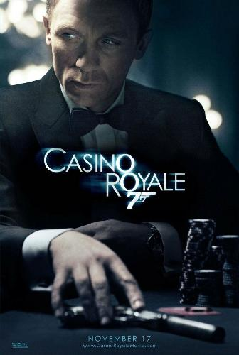 Casino Royale - new bond empowering the character one step ahead in Casino Royale.