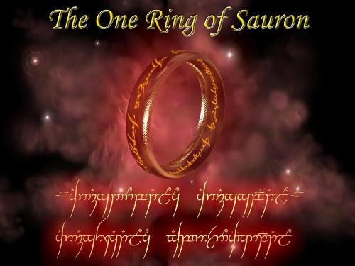 lord of the rings - ring of sauron