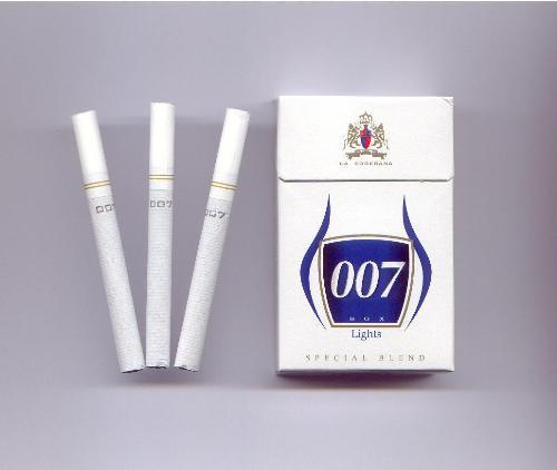 Cigarettes - 007 Cigarettes