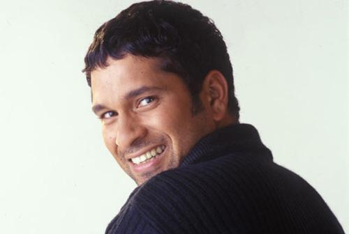 Sachin Tendulkar - His smile itself has a charm and it is a portrayal of his confidence and achievements.