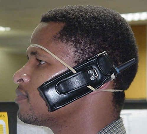 Hands free - The latest hands free device;)