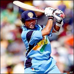 Sachin - Sachin playing attacking shot