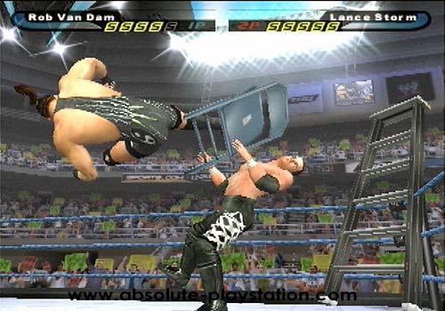 WWE stunt -   Is it real?