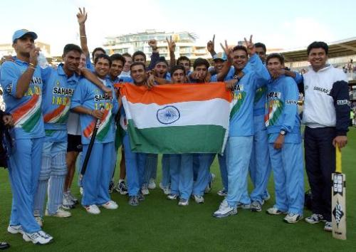 Indian Cricket team - Indian cricket team on an earlier occassion