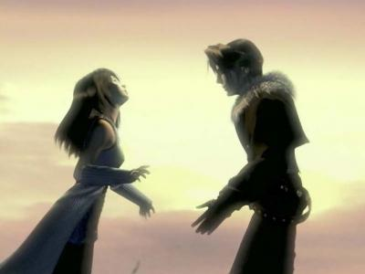 A great scene from FF8 - Squall and Rinoa