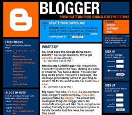 One example of blogging site - Very good blogging site