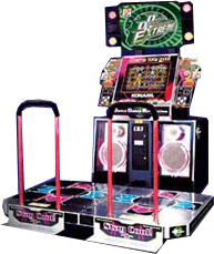 ddr - Dance Dance Revolution arcade machine
