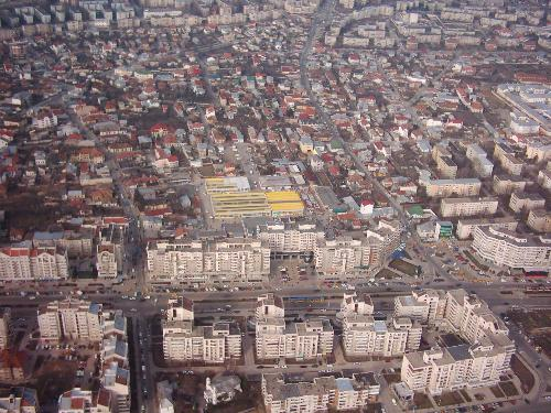 Craiova - This is an overview from Craiova in center of city