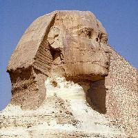Sphinx - It is the famous statue of the sphinx in cairo pyramids