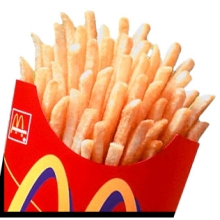 McDonalds french fries - McDonalds french fries. McDonalds is a very famous place. Its branches are in almost in different parts of all countries.