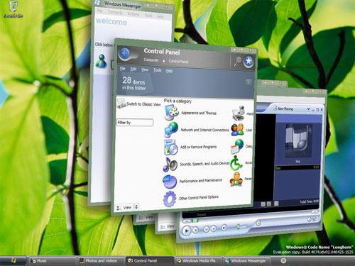 Windows vista - aero 3d