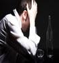 addiction - addiction, a man depressed over facing his addiction