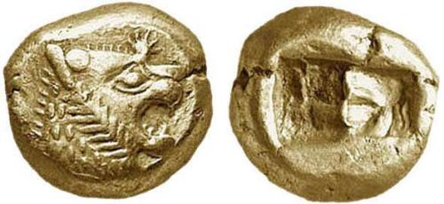 The Lydian Coin - The Lydian Coin - the worlds first coin