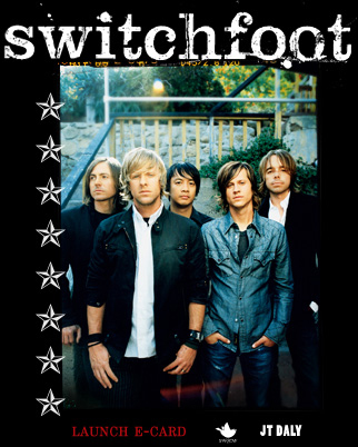 Switchfoot - The picture shows the blues rock band Switchfoot.