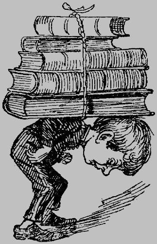 Burden of homework - Kids overburdened