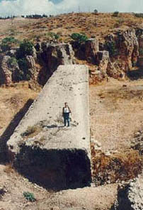 Baalbek - Don't you wish you could stand there? Such HUGE structues! Baalbek.