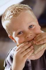 eating sandwich - sandwich