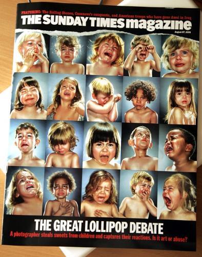 The Great Lollipop Debate - The Great Lollipo Debat about Jill Greenberg