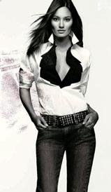 Women in jeans - Women weared the jeans with shirt