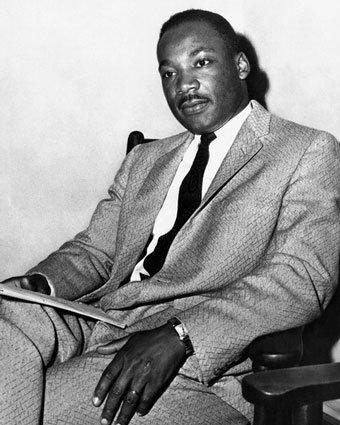 Dr. King - Dr. Martin Luther King, Jr.