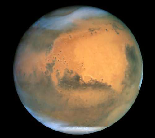 mars - mars is a very quet planet