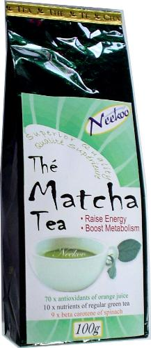 Matcha Tea - Very nice tasting.