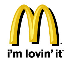 Photo of the McDonalds logo - Photo of the McDonalds logo. It's the logo that we all know.