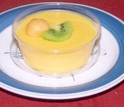 mango pudding - Just have this tempting mango pudding¨!