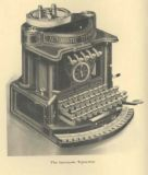 Typewriter - Used in writing, long before computer was introduced.