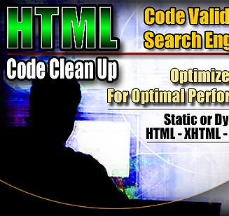 HTML codes - this photo represents HTML codes