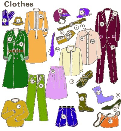 clothes - i like to wear different clothes everydays