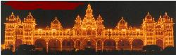 PROSPARITY - Mysore is in south India.This is a world famous Palace.Every evening they switch on the lights for at least 15 mins.People from every where come here to see this wonderful illumination