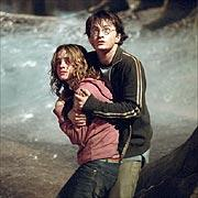 Harry Potter and the Goblet of Fire - Hermoine and Harry