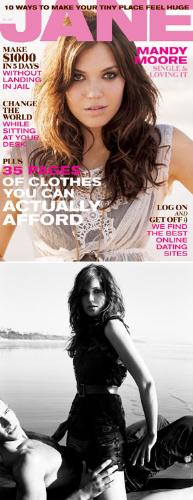 Mandy Moore - Mandy Moore cover girl for Jane February issue