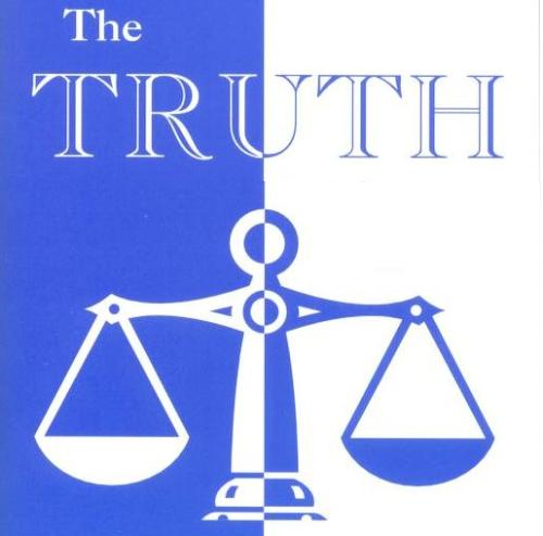 the truth - Telling the truth
