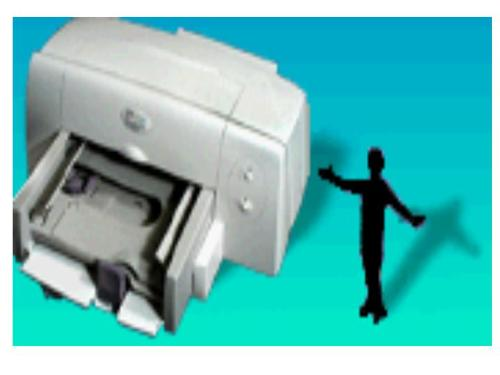 printer - It is a photo of computer printer.